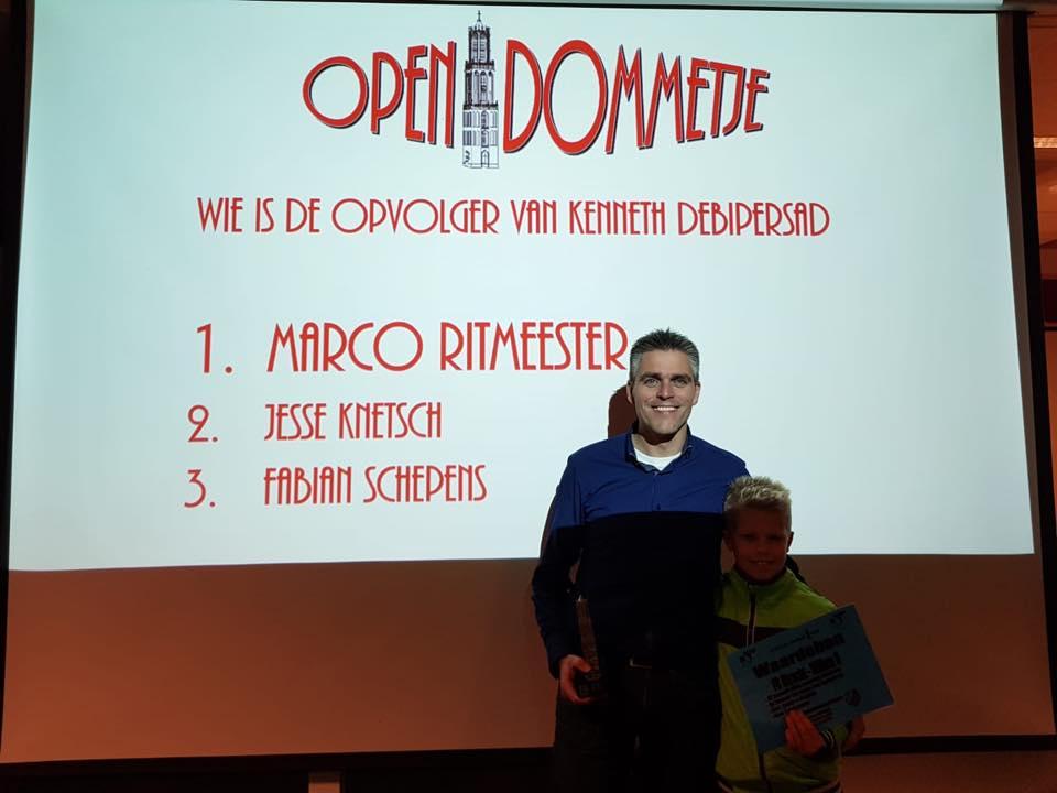 Marco Ritmeester winnaar Open Dommetje 2018