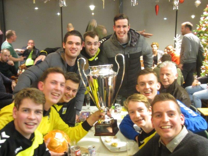 Han van der Bor toernooi prooi voor vv Kockengen