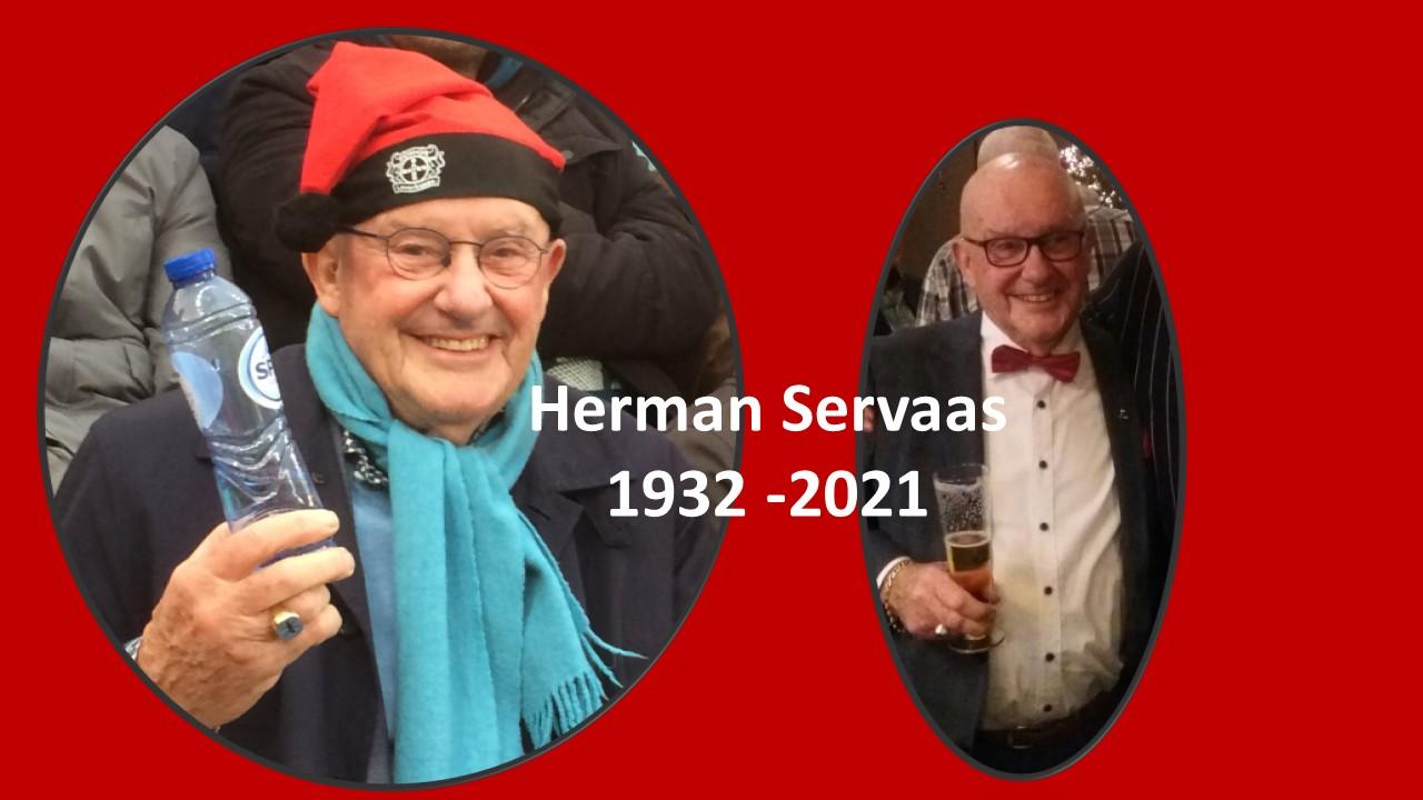 In memoriam Herman Servaas