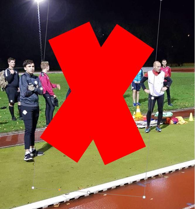 Geen training tot in ieder geval 14 januari 2021